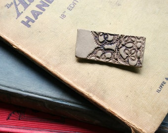 Lace Impressions brooch