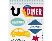 Vacation  - Travel Sticker Set