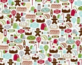 American Crafts Merrymint Paper - Candy Shoppe 12x12  Scrapbook Paper 10 sheets