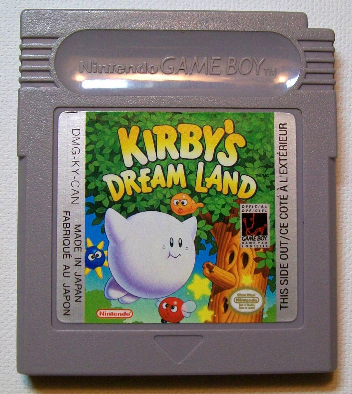 Vintage 1985 Original Gameboy Game Kirby S By Retrorevolution