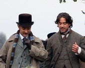 "Dr. Watson's ""Too English"" Scarf (Sherlock Holmes 2)"