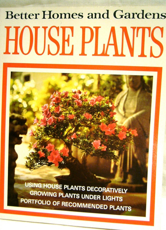 House Plants Better Homes Gardens 1971