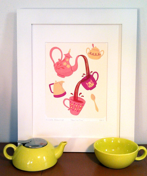 Tea For Two Print