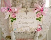 Marie Antoinette .... LeT THeM EaT CaKE .... Party Place Setting ... Chair Hanger ..... Great for Parties or Special Events