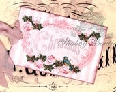 Pink Roses .. Christmas .. Bird .. Sheet Music .. Holly and Berries .. Cartouche .. Shabby Cottage .. Gift Tags .. ECS