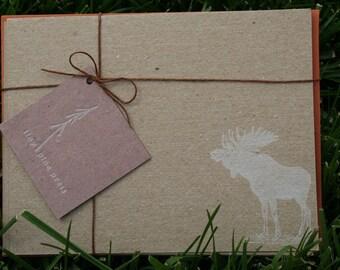 Moose Stationery Set