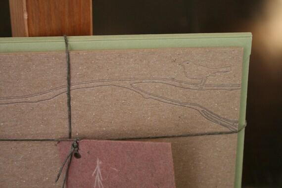 Bird on A Branch Stationery Set