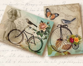 Motion Atc Aceo Tags, Digital Collage Sheet, Download and Print Jpeg Images