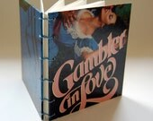 Gambler in Love - Blank Book- Vintage Dust Jacket