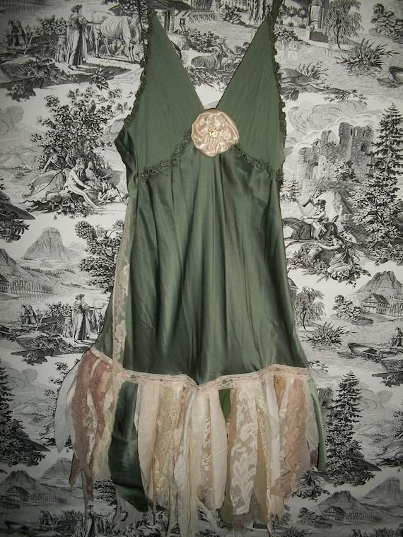 Tattered Dreams Silk  Dress  SALE 185.00