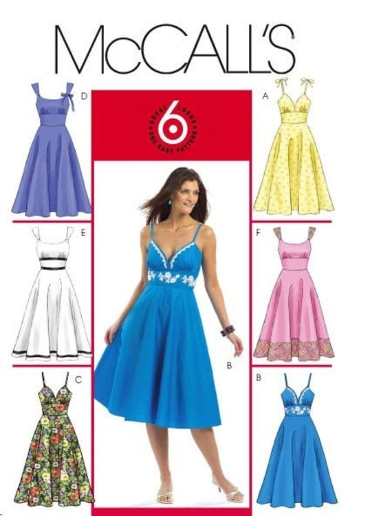 Mccalls Dress Pattern 5094