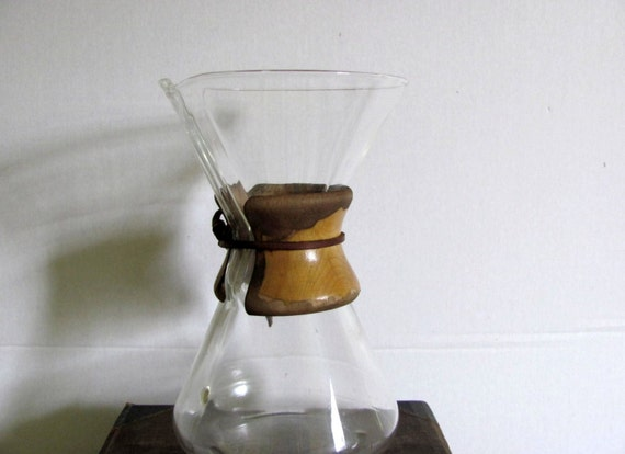 Chemex Pyrex big 13 cup coffee carafe drip coffee pot
