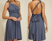 Convertible Dress in Silver 04
