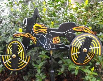 Motorcycle Whirligig