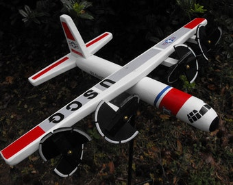 US Coast Guard Airplane Whirligig