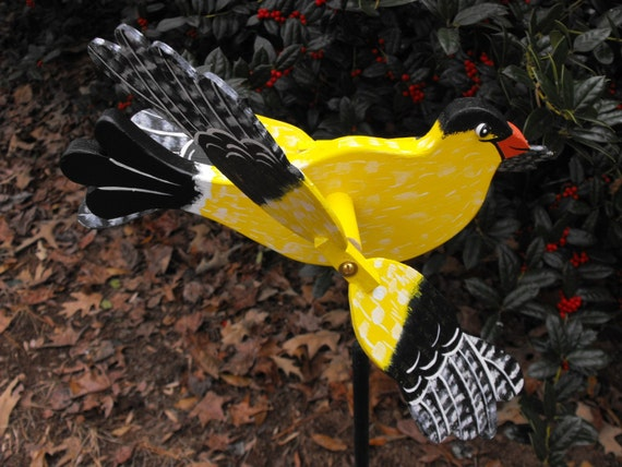 Goldfinch Whirligig