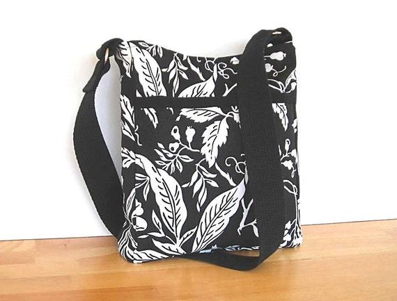 Black and White Shoulder Bag Purse SALE