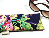 Eyeglass sunglass padded case Amy Butler Love cotton fabric