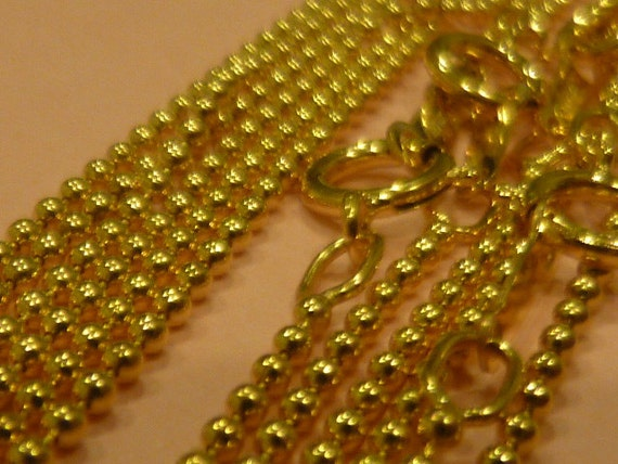 14k Gold Filled 18 inch Bead Chain - GF1118