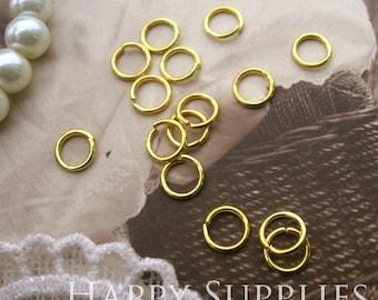 200pcs Nickel Free - 5mm Golden JumpRings (WJJRG5)