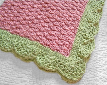 PDF Pattern for Very Melon Baby Blanket and Very Berry Blanket