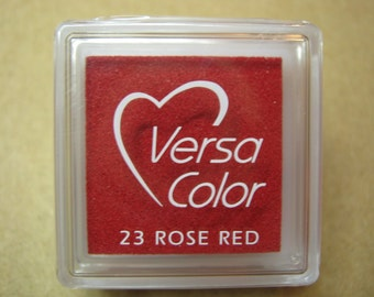 VersaColor Pigment Ink Pad Small in Rose Red
