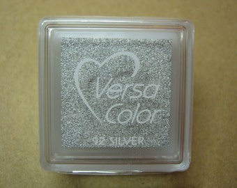 VersaColor Pigment Ink Pad Small in Silver
