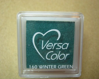 VersaColor Pigment Ink Pad Small in Winter Green