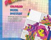 Pocket PrismaPixels, Colored Pixel Puzzles