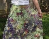 Organic clothing boho hippie hemp wrap skirt