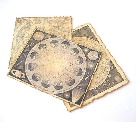 Celestial maps in 1/12 scale
