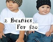 2 Beanies For 20 Promotion