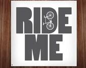 ride me - slate grey