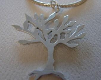 Sterling Silver Elder Tree Pendant