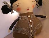 Cute Cloth Doll Berta