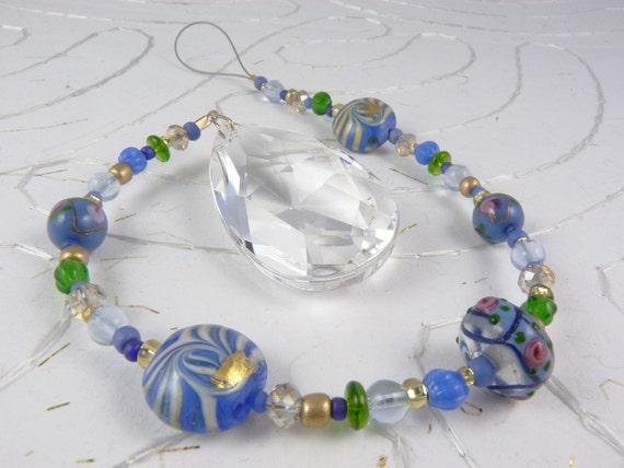 Rainbow Crystal Prism Suncatcher - Fields of Lavender