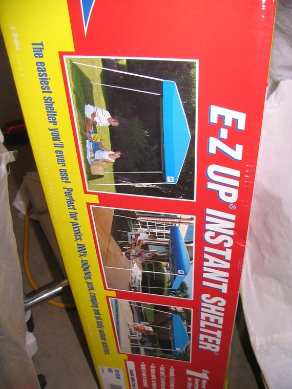 EZ Up top cover only--Royal Blue--Low Price--NEW-- 1-8 Dollar SALE