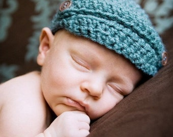 Little Newsboy Beanie