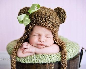 Teddy Bear Beanie Photo Prop