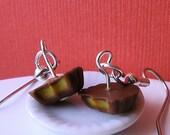 Peanut Butter Cup Earrings