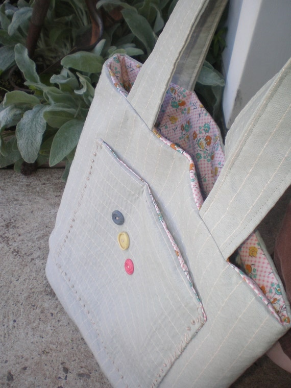 SALE ITEM - Summer Day -  Large Tote Bag