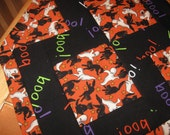 Quilted Halloween Placemats