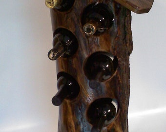 Stump Wine Rack