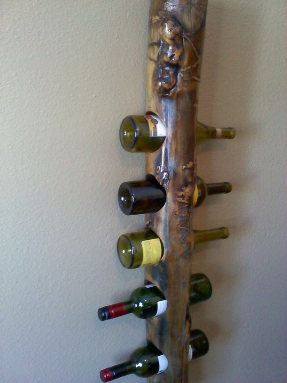 Secure Wall Hanging Wine Rack