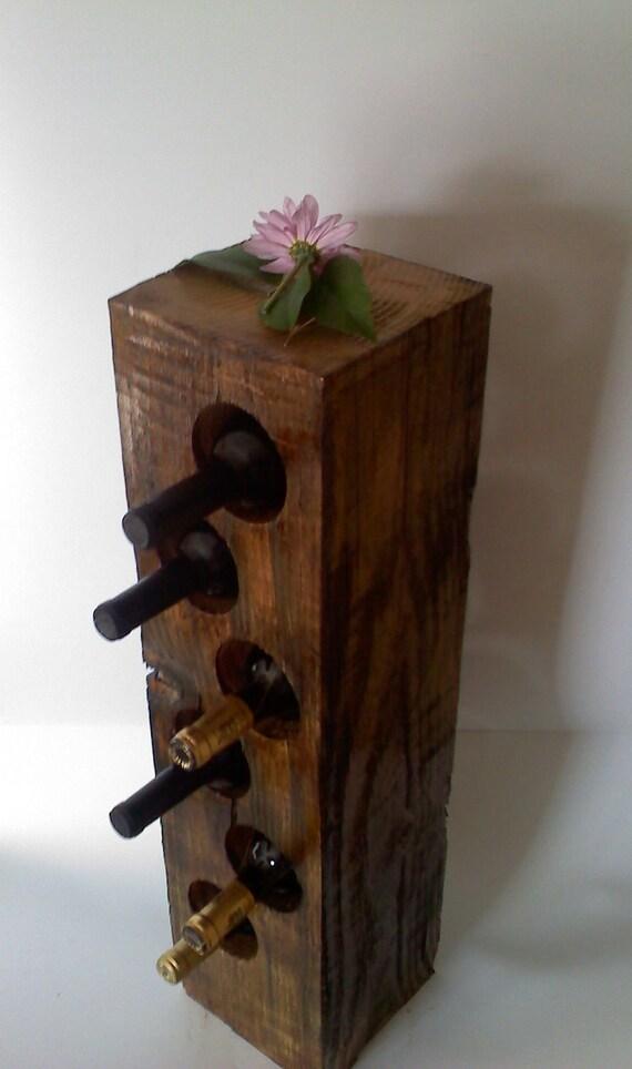 Wooden Wine Storage Block
