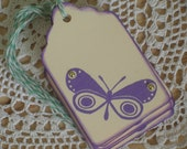 Butterfly Gift Tags Set of 6