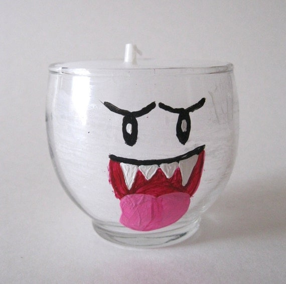 Boo Candle - Vanilla Scented - Mario Inspired