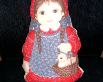 Stuffed, handmade doll