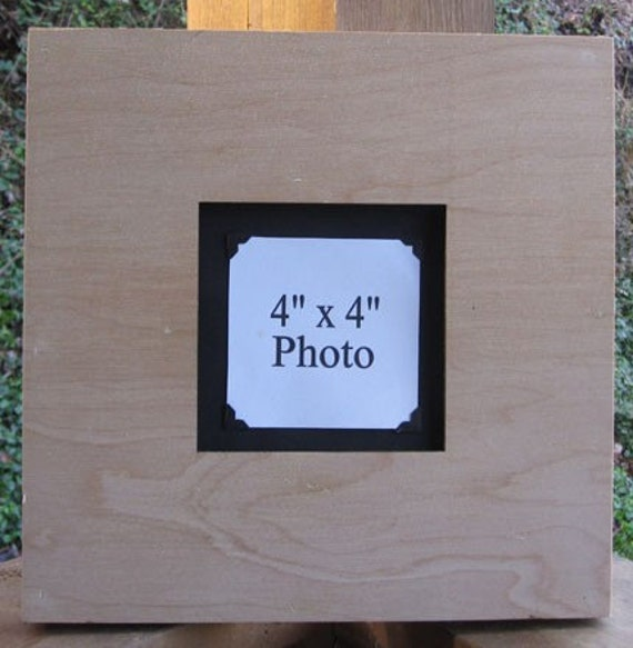 Picture Frame 16x16 Photo Frame Blank Unfinished By Legacystudio