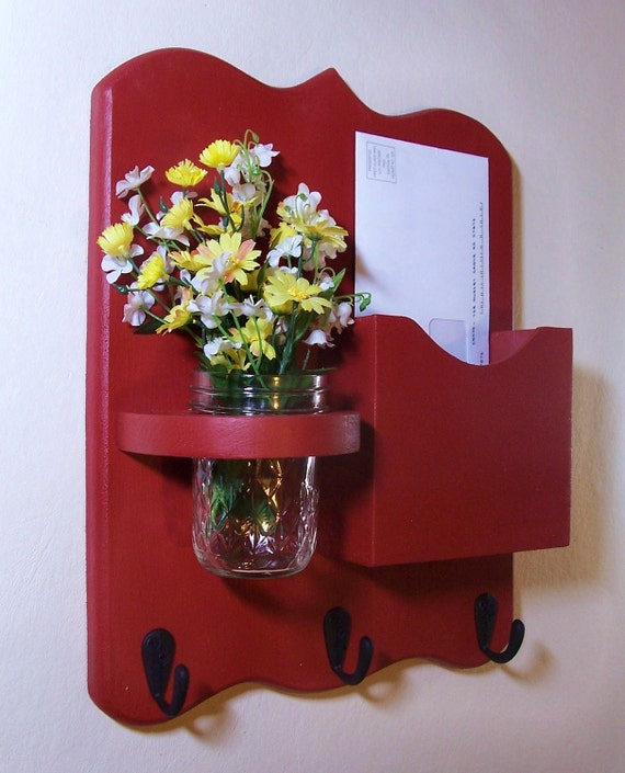 Mail Organizer Mail Holder Letter And Key Holder By